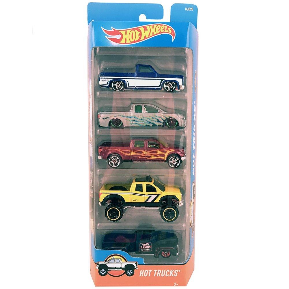 Hot Wheels 01806 Car Assortment 5 Count T8642