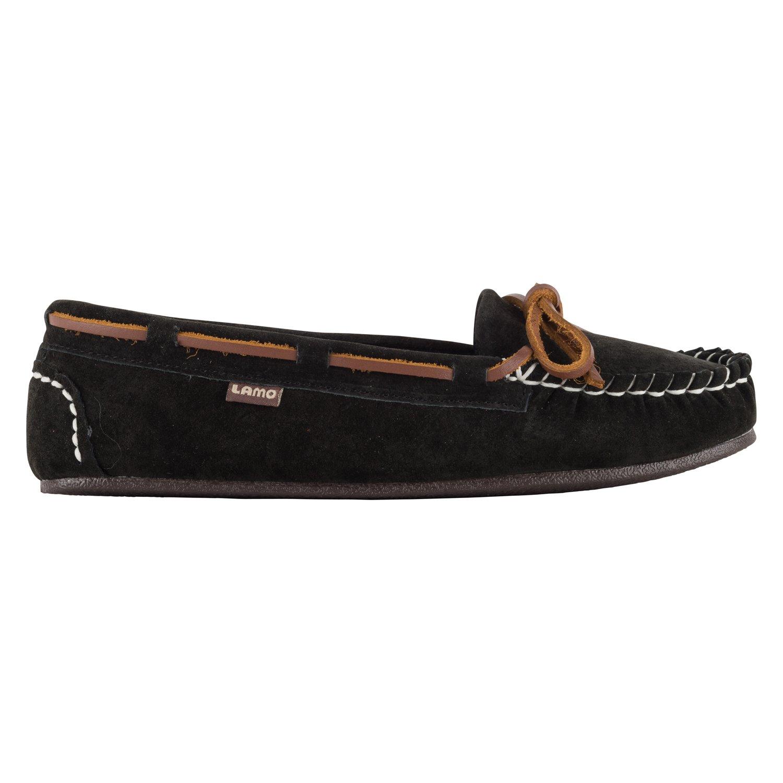 Lamo Women's Sabrina Moc II Shoe, Black, 7.5 M US
