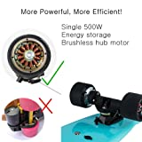 "Maxfind 27"" Waterproof Electric Skateboard, Light"