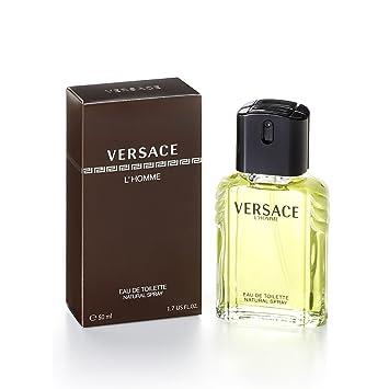 36a0b5231 VERSACE L HOMME edt vapo 50ml  Versace  Amazon.fr  Beauté et Parfum