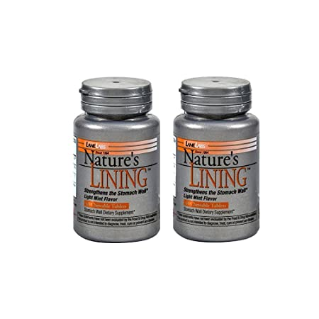 Amazon.com: Lane Labs Nature\'s Lining,60 Chewable tablets, 1.75 ...