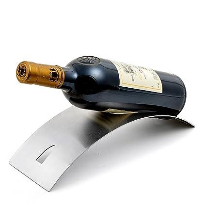 Amazoncom Creative Wine Rack Arch Bridge Wine Holder Suspension
