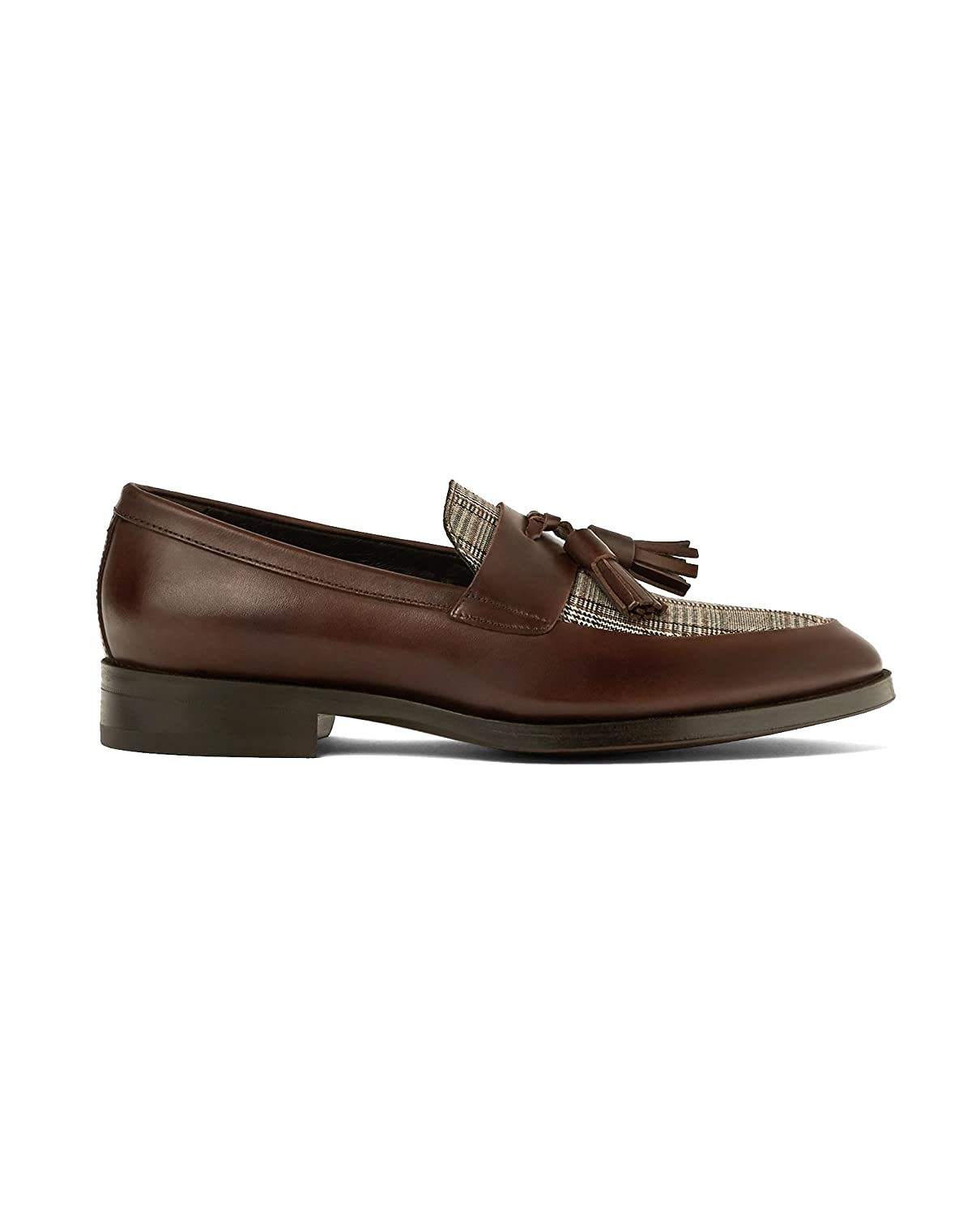 Men Brown leather loafers 5199/202