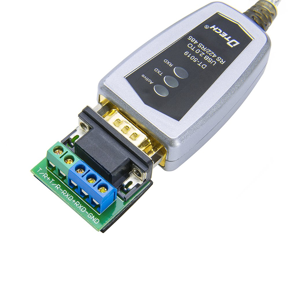 7 DTECH 4 Feet USB to RS422 RS485 Serial Port Converter Adapter Cable with FTDI Chip Supports Windows 10 XP and Mac 8