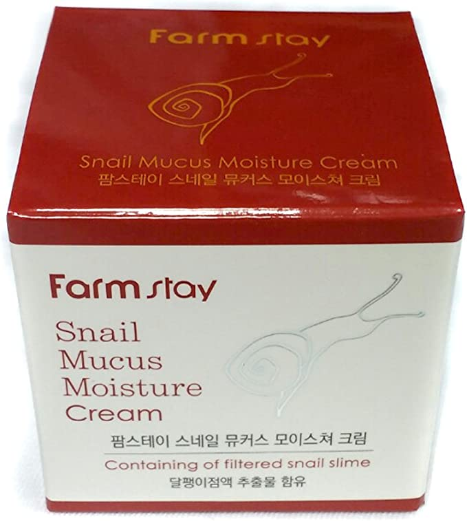 Farm Stay Snail Mucus Moisture Cream 50g/1.67oz: Amazon.co.uk: Beauty
