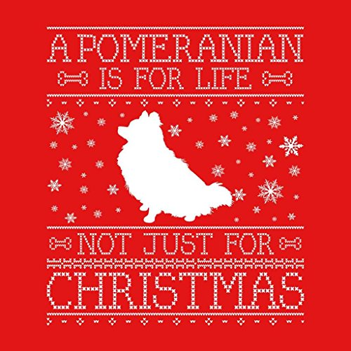 Women's Life Just Pomeranian Not A Red Sweatshirt Is For Christmas ORCSxZq0