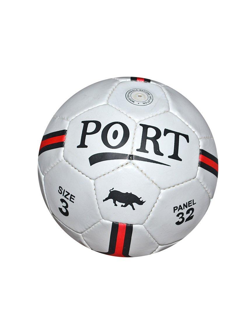 Port 32 Panel White Football