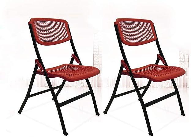 ZPWSNH Chaise Pliante en Plastique Minimaliste Moderne pour