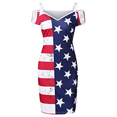 6fa6fbad90e Fourth of July Womens Dress