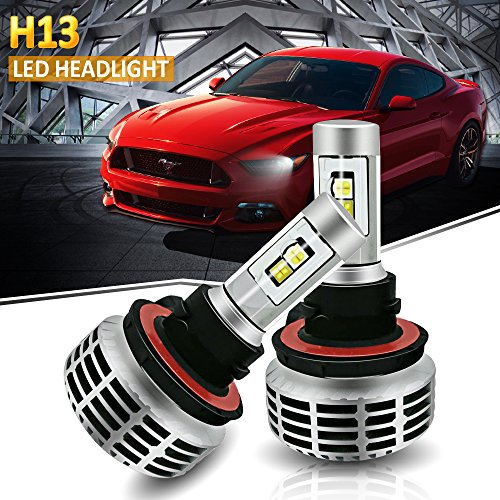 Ford Xlt Van (AUSI 9008 H13 Headlights Bulbs 6000LM Fit Ford F150 Focus Excursion Explorer F250 Freestar F350 Sports Trac mustang van Lariat XLT Chevy Cruze GMC Yukon Denali XL Grand Marquis HHR Pontiac Torrent)