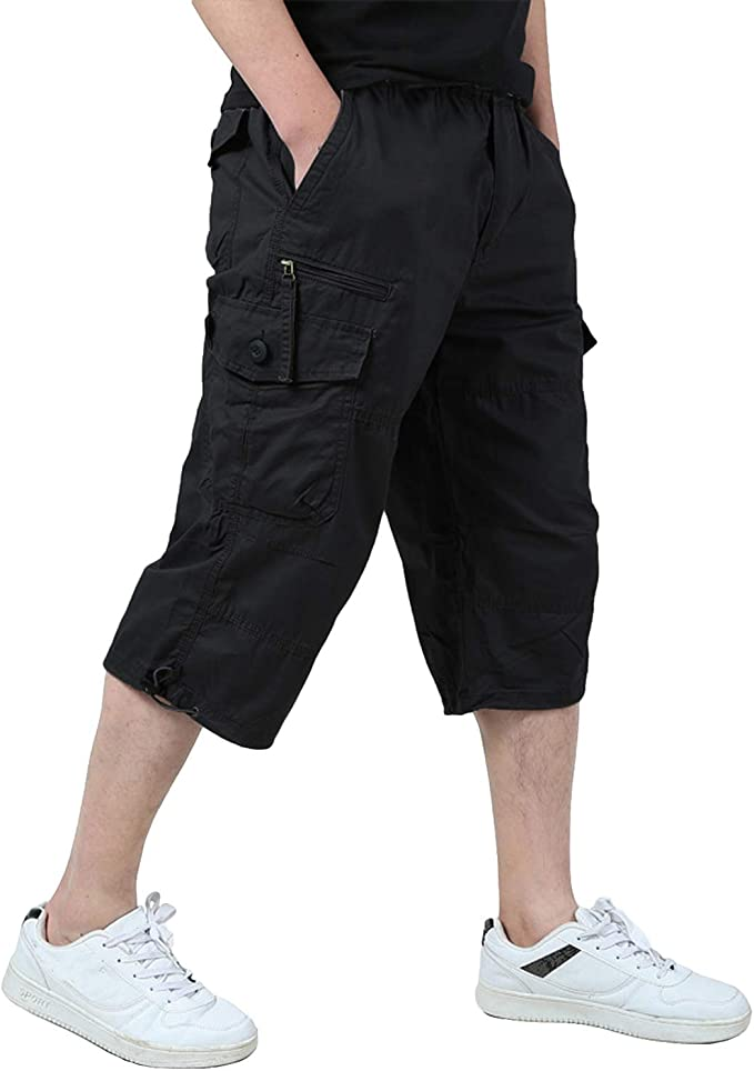 mens long shorts amazon