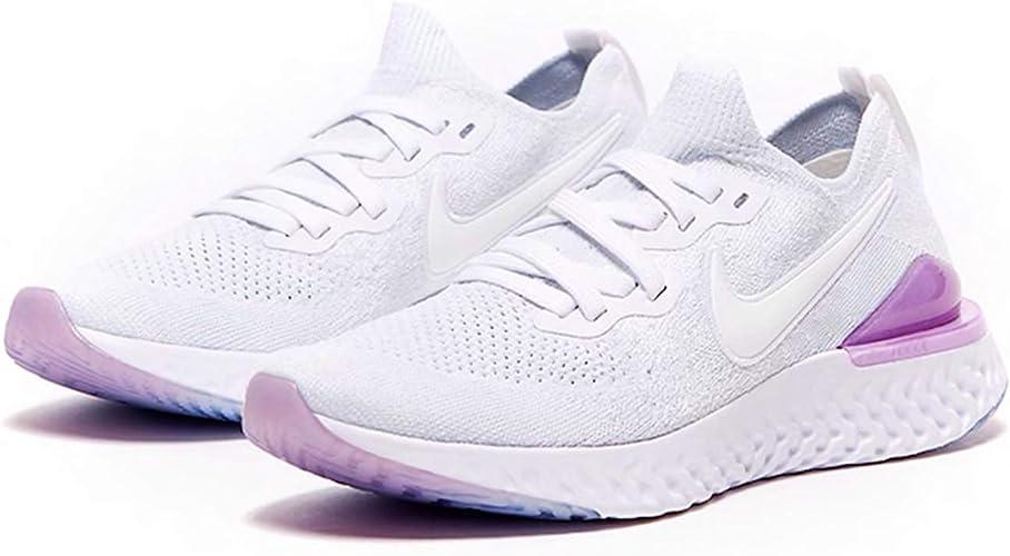 Amazon.com: Nike Epic React Flyknit 2 - Zapatillas de ...