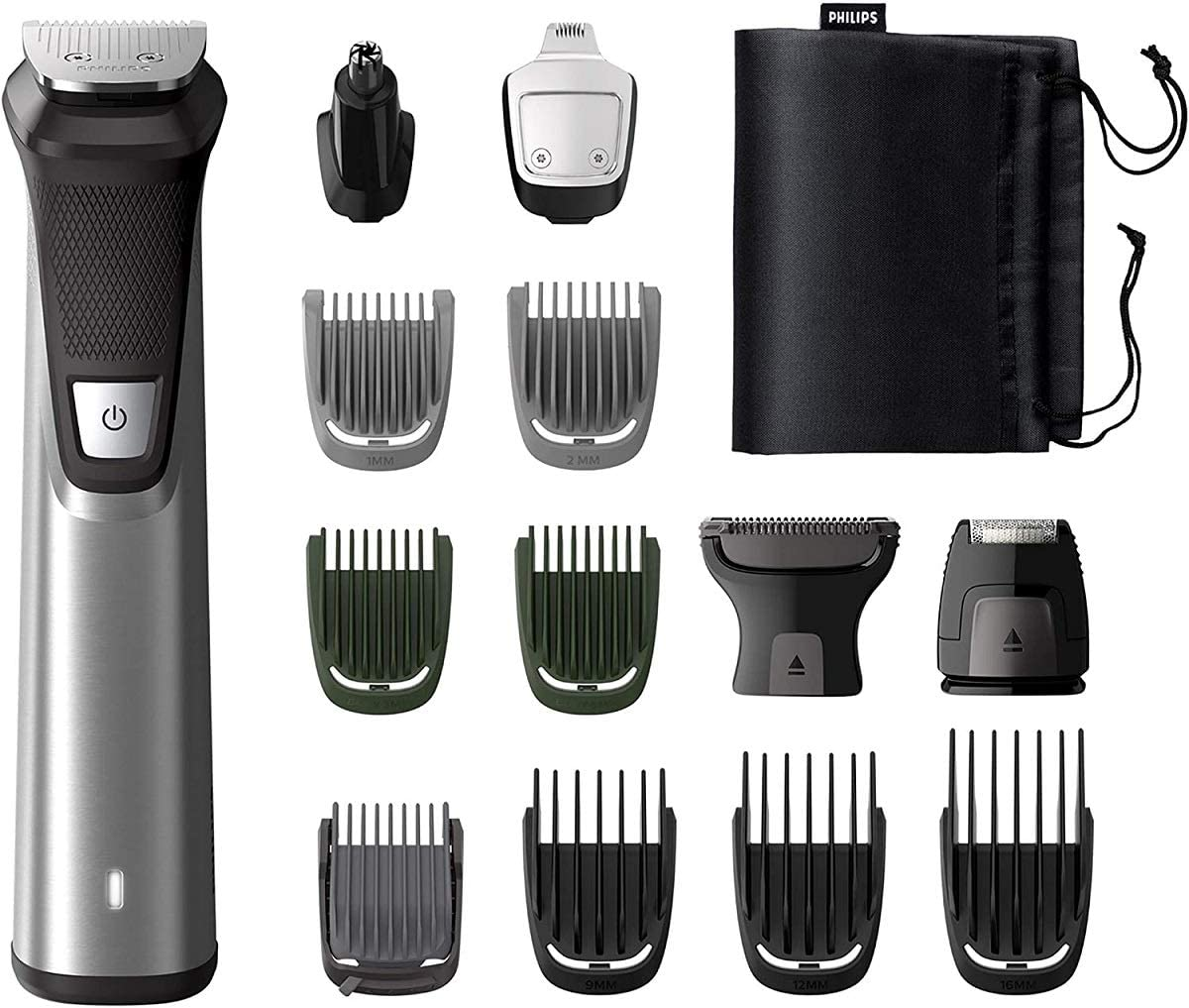 Philips MULTIGROOM Series 7000 MG7745/15 cortadora de pelo y ...