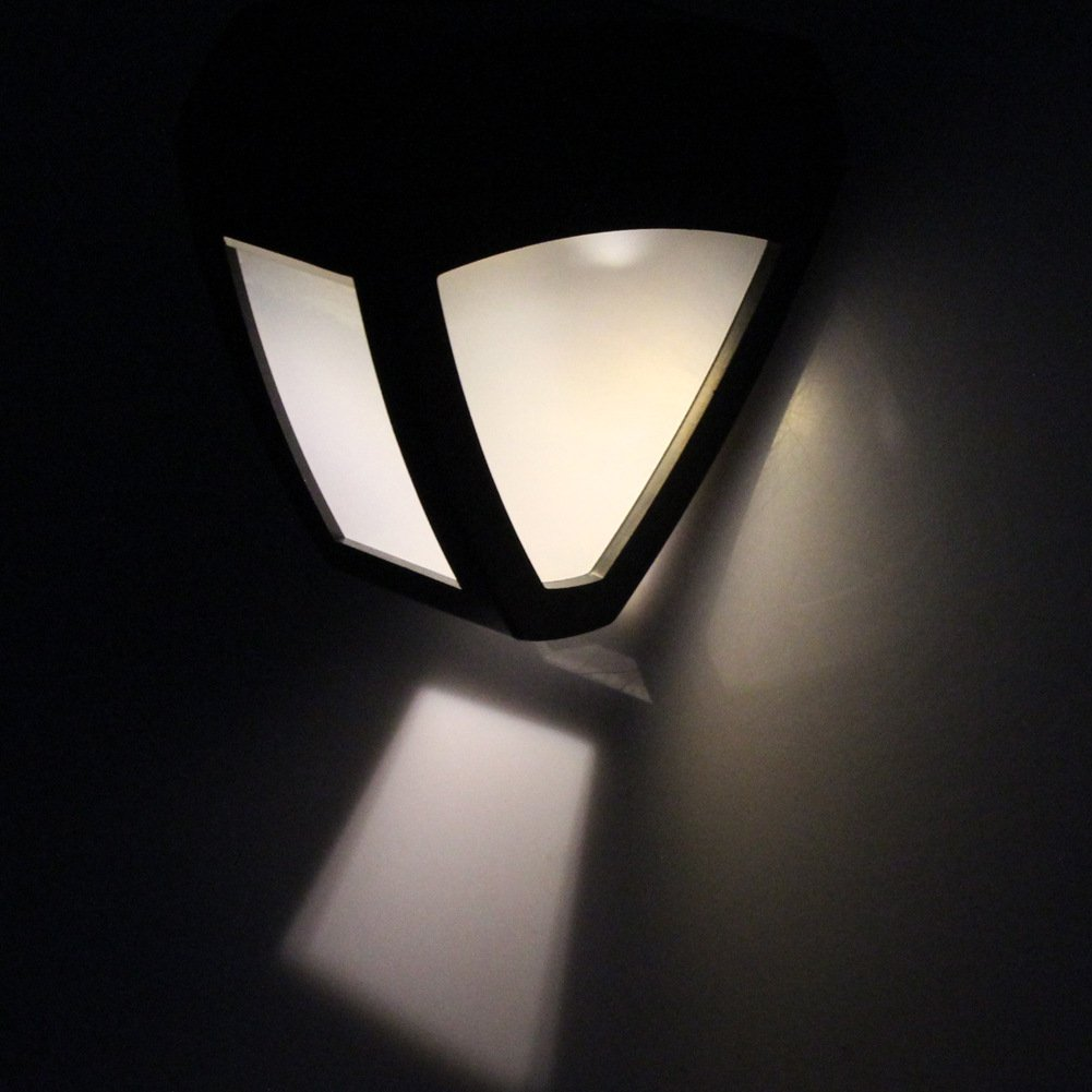 Sammid Solar Lights Outdoor,Outdoor Light for Patio, Deck, Yard, Garden - White Light