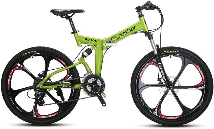 Cyrusher RD100 Bicicleta de montaña Plegable: Amazon.es: Deportes y aire libre