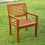 International Caravan TT-1B-051-2CH-IC Furniture Piece Royal Tahiti Bar Harbor Set of 2 Arm Chair