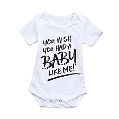 7c7dc46568a Amazon.com  Fineser Baby Romper