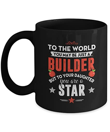Amazon.com: Funny Gift for Dad Mom - Builder But To Your Daughter ...