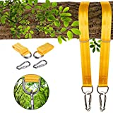 Cheap Colisivan Tree Swing Hanging Straps, Tree Swing Hanging Kit for Hammock Chair Rope with Safety Lock Carabiners