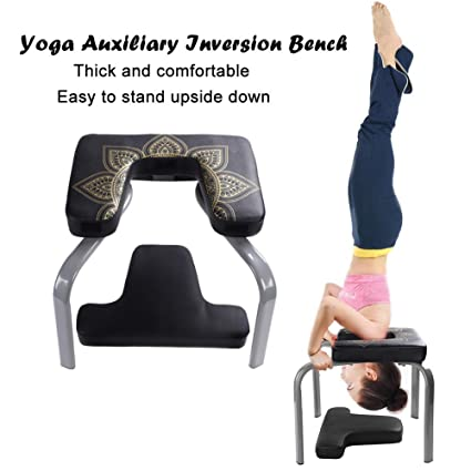 Scool Yoga Headstand Bench Yoga Inversion Chair Great For Workout Fitness And Gym