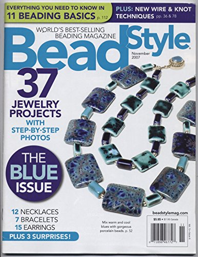 Bead Style Magazine- November 2007 pdf epub