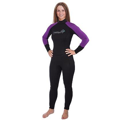 Ivation Women s 2.5mm Premium Neoprene Full Body Wetsuit - Excellent for  Multisport Use In and 050de268c