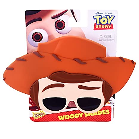 78a6d867dc Amazon.com  Costume Sunglasses Toy Story Woody Sun-Staches Party Favors  UV400  Toys   Games