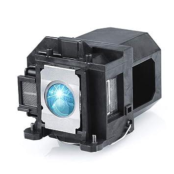Lanwande V13H010L57 / ELPLP57 Lámpara de Repuesto para proyector ...