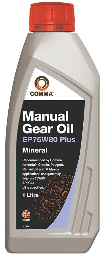 COSAN LUBRICANTS EP75W80P1L EP75W80 Plus Manual Transmission Fluid-1 Litre