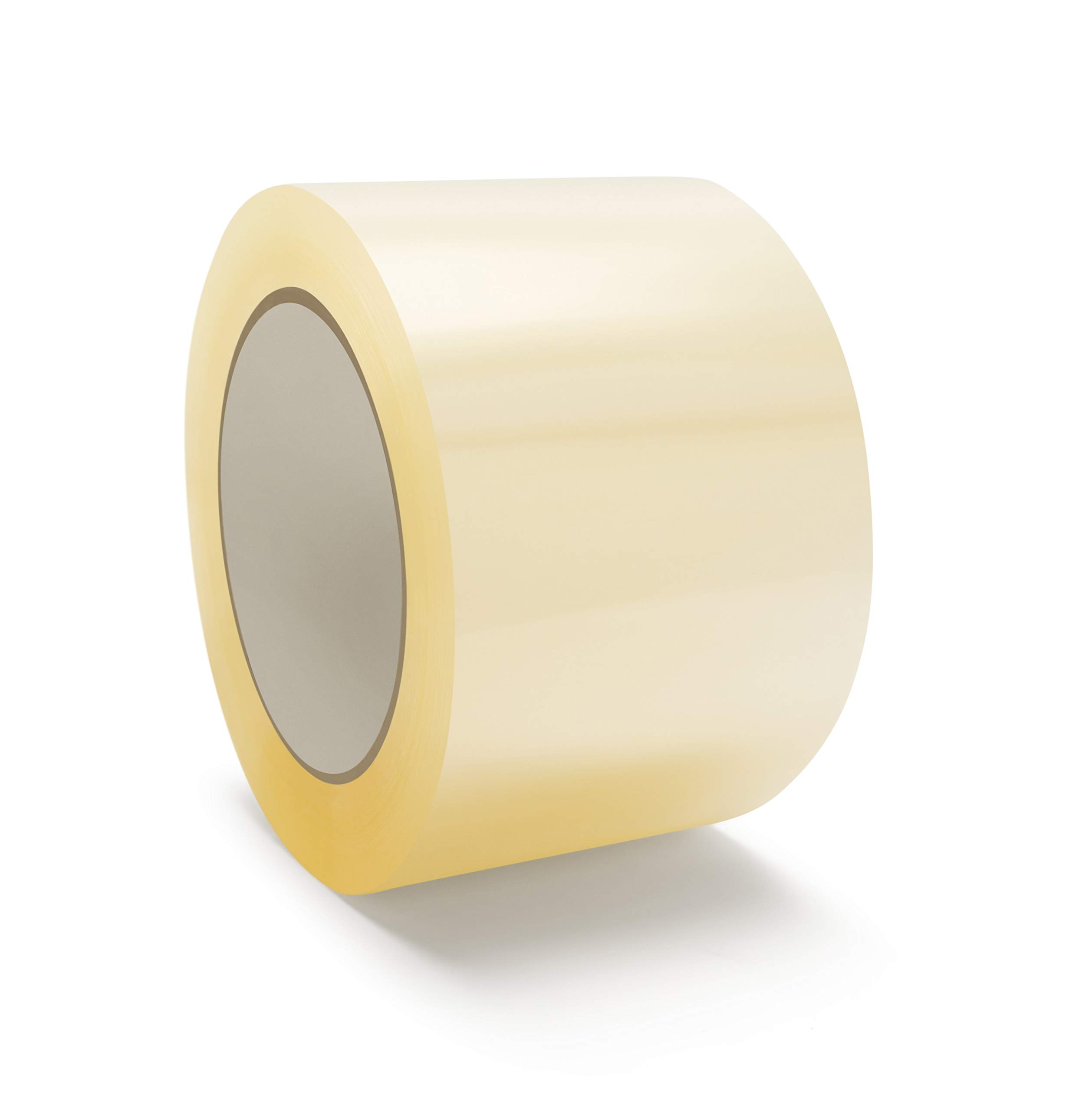 Industrial Tape 96 Rolls Clear Packaging, Packing, Carton Sealing Tapes - 3 Inches Wide x 330 Feet 1.75 Mil Thick