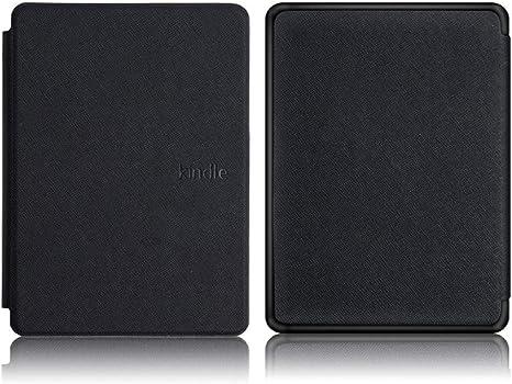 Funda para Amazon Kindle 10th 2019 Slim Cove Funda para Kindle J9G29R Cuero de PU (Sin función de Reposo/activación)-658 XB BK: Amazon.es: Informática
