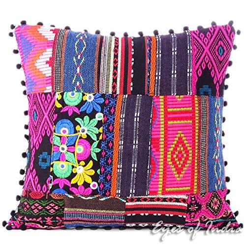 Patchwork Decorative Throw Pillow - 4