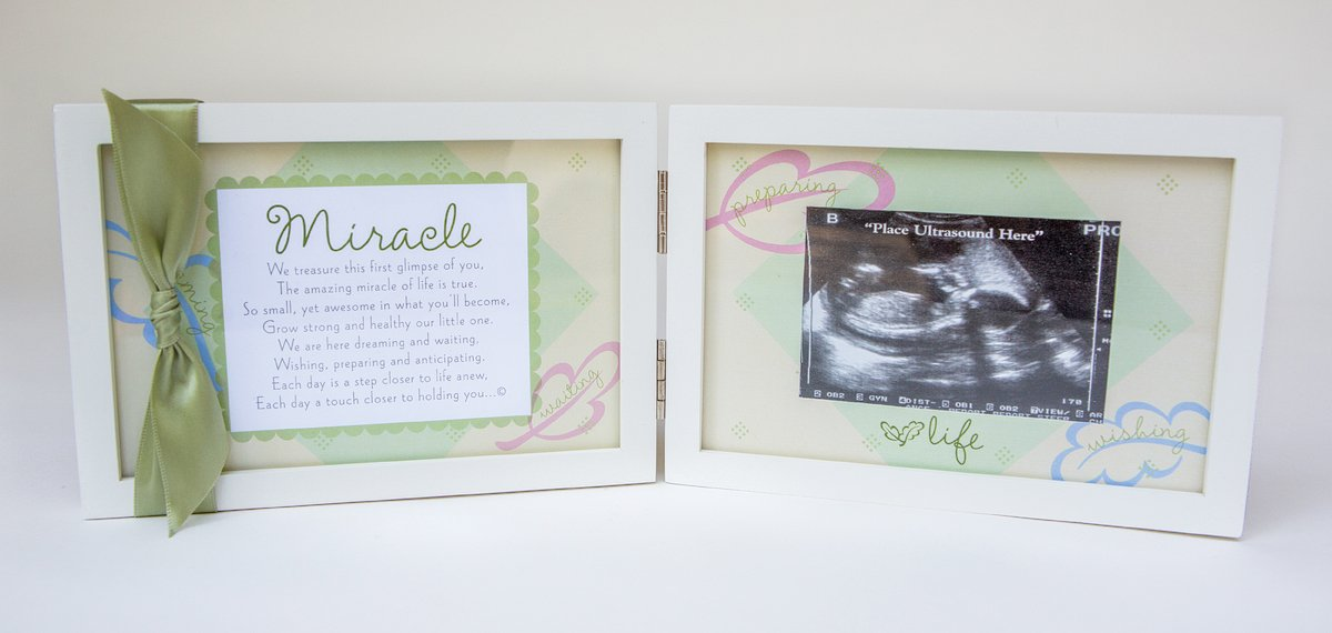 The Grandparent Gift Miracle Ultrasound Frame The Grandparent Gift Co. 3091