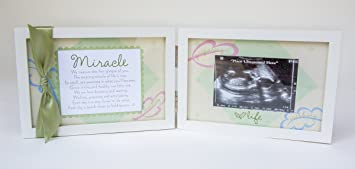 Amazoncom The Grandparent Gift Co Miracle Ultrasound Frame For