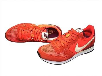 Hombres clásico de aire Waffle Trail Road Racer Jogging Running Zapatillas calzado zapatillas zapatos de amortiguación, color naranja: Amazon.es: Deportes y aire libre