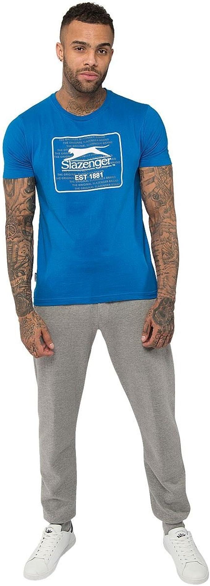 Slazenger - Pantalones de deporte para hombre, ajustados, con ...