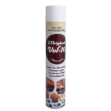 Spray alimentario para bandejas, 500 ml – De mantequilla antiadherente, ideal para tartas,
