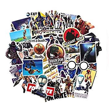 Amazon.com: Party Stickers USA 46pcs Gaming Stickers For ...