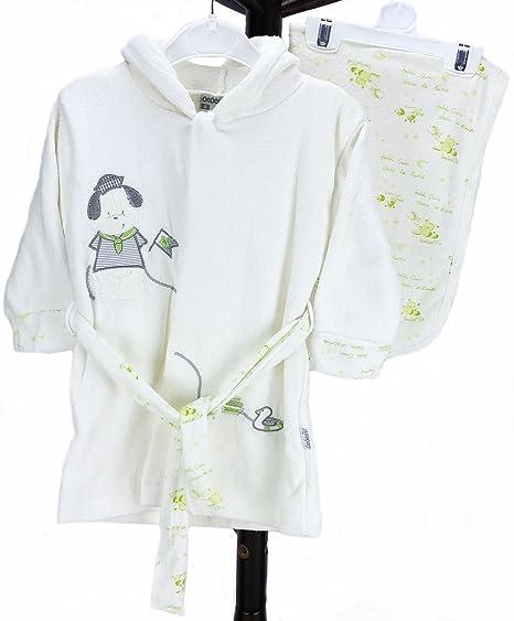 Bebé de tejido de rizo albornoz MO Capitán toalla de baño material con 100% algodón