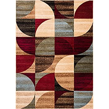 Amazon Com Well Woven Barclay Bowery Art Deco Modern Rug