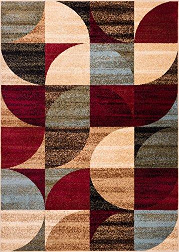 Well Woven 542523 Barclay Bowery Art Deco Modern Rug, 2'3