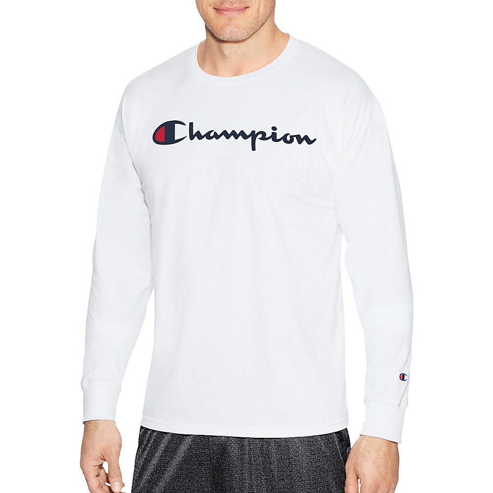 Champion LIFE Men's Cotton Long Sleeve