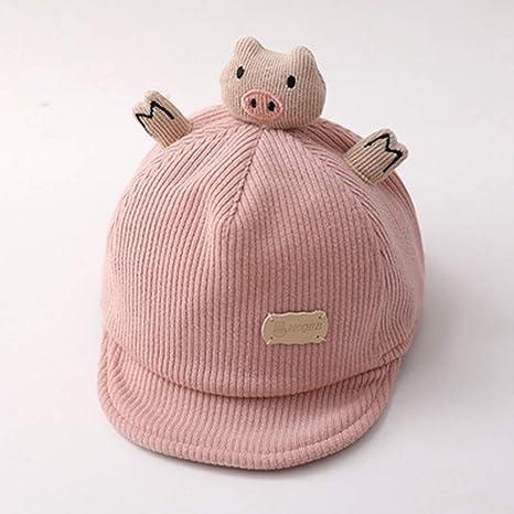 Yfnhy Sombrero para bebé Primavera y otoño Gorra con Visera para ...