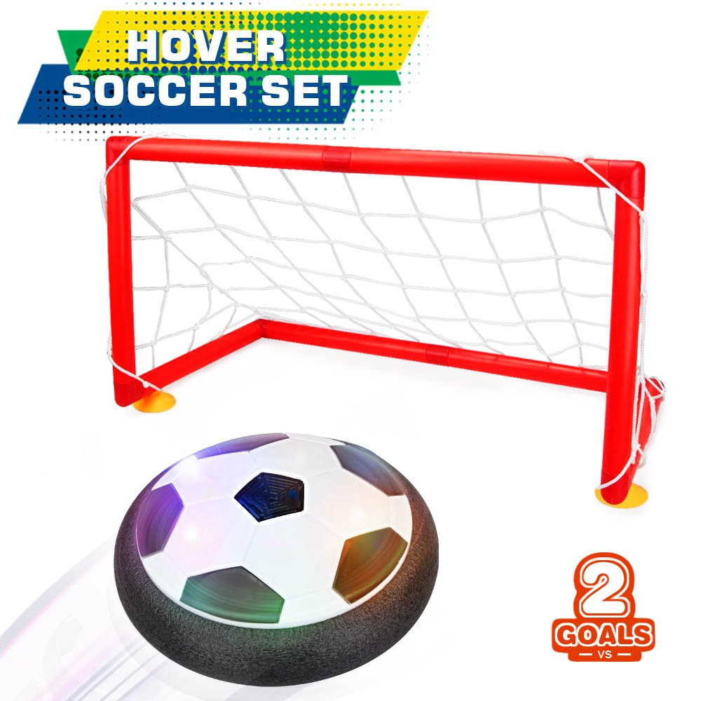 image of a Hover soccer set (net and ball)
