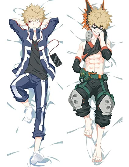 Orripot Yvetel My Hero Academia Boku No Hero Academia Peach Skin 150cm X 50cm 59 X 19 6 Covered Zipper Body Pillow Case Soft Cover Katsuki