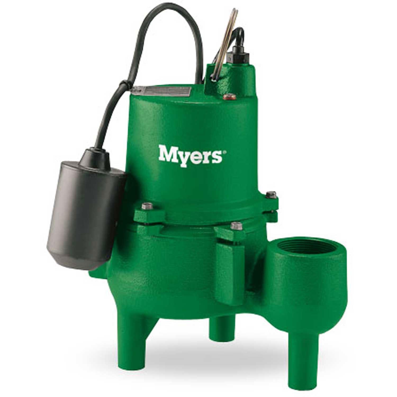 Myers SRM4PC-1 4/10 HP Cast Iron Sewage Pump