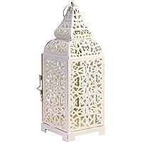 Uonlytech candelabro de Hierro Forjado Marruecos portavelas Jaula