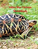 """This Indian Star Tortoise SketchBook is a great tool for your kids to draw anything they like and improve their drawing and imagination skills! There are 120 pages white paper with large 8.5""""x11"""" size. You can really have fun with drawing and practic..."""