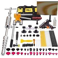 Mookis 77-teilig Auto Dellen Reparatur, Slider Hammer Lifter mit Puller Reparaturset, Gun selbstklebend Sticks, Lockvogel Taben