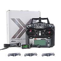2. Flysky FS-i6X 10CH 2.4GHz AFHDS 2A RC Transmitter With FS-iA10B Receiver